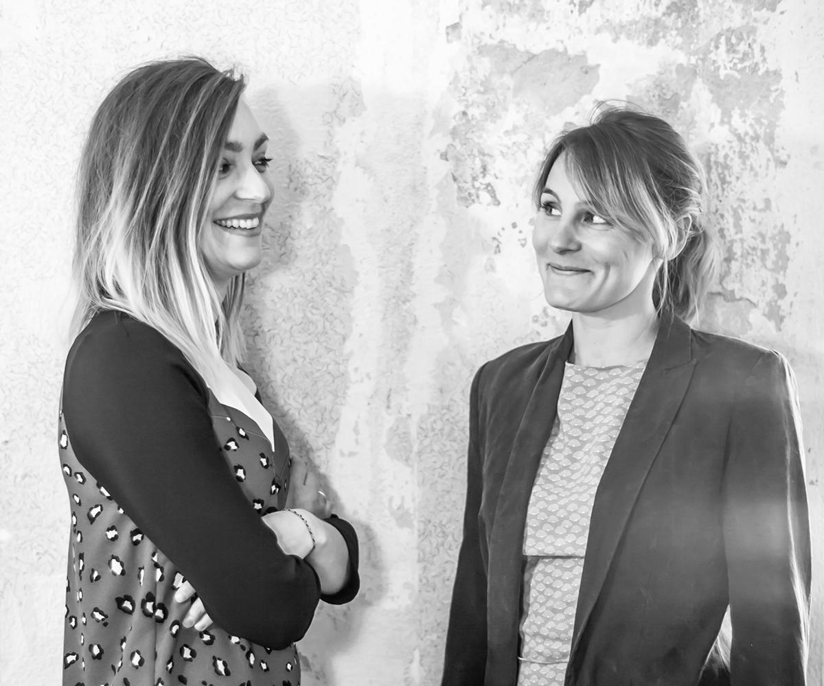 Portrait des architectes Solène et Hana