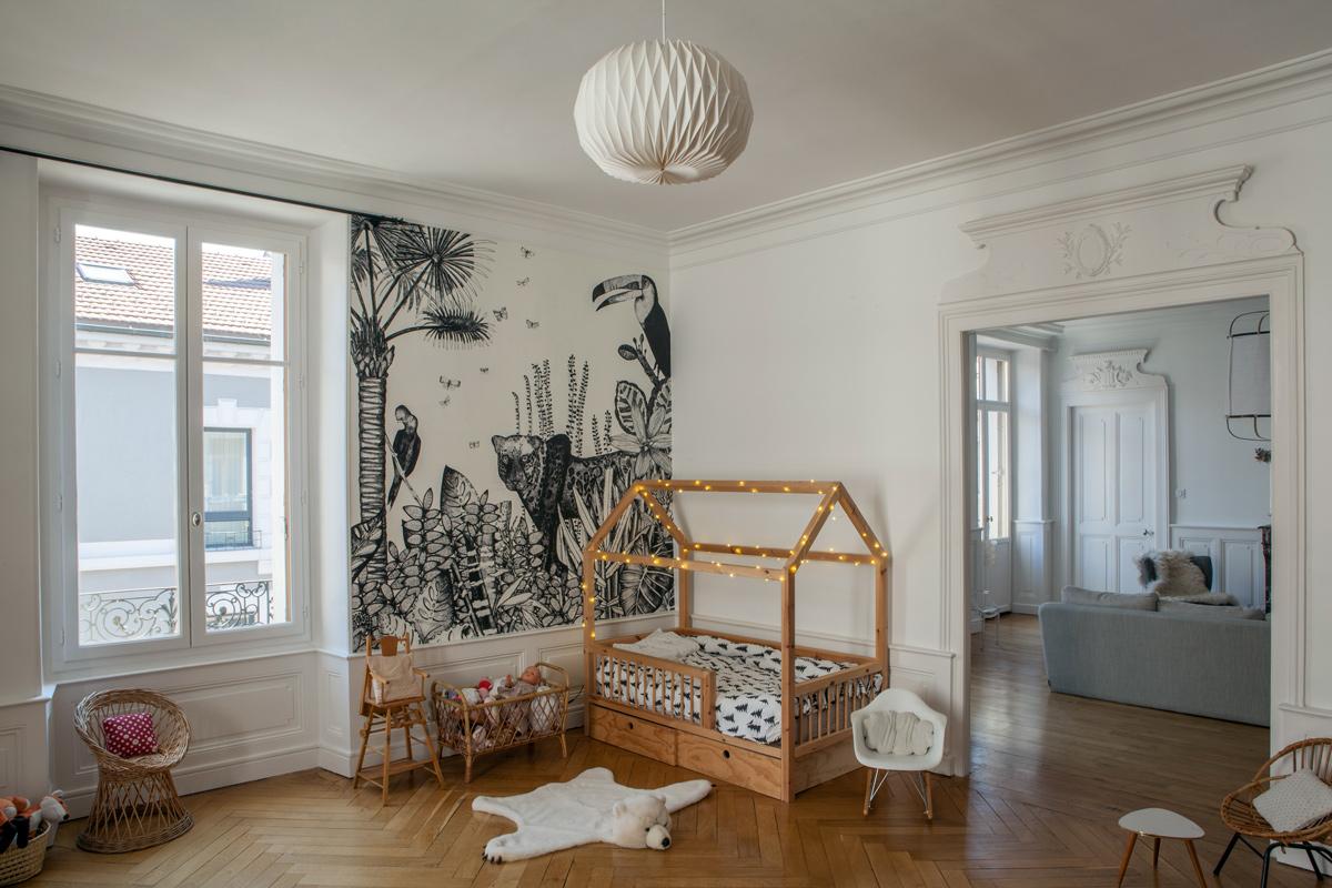 Un bel appartement type haussmannien